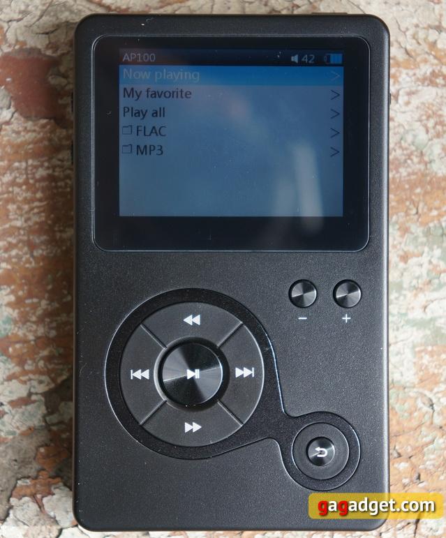 Обзор Hi-Fi аудиоплеера Hidizs AP100 -6