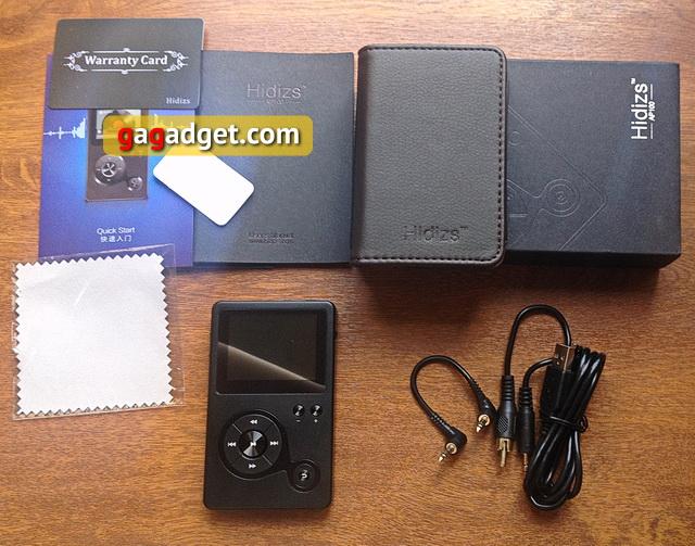 Обзор Hi-Fi аудиоплеера Hidizs AP100 -5