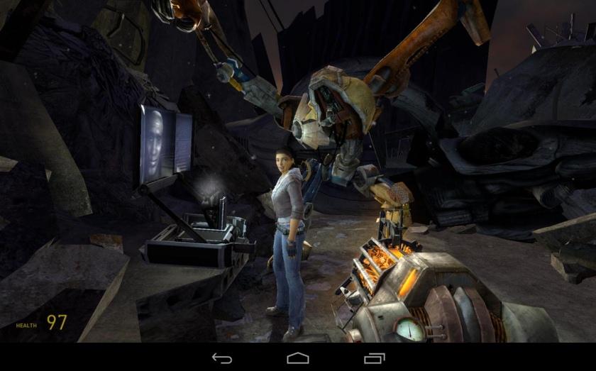 Half-Life 2: Episode One вышла эксклюзивно для планшета NVIDIA Shield Tablet-2