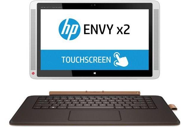 Планшеты-переростки HP Envy X2 с 13.3- и 15.6-дюймовым экранами