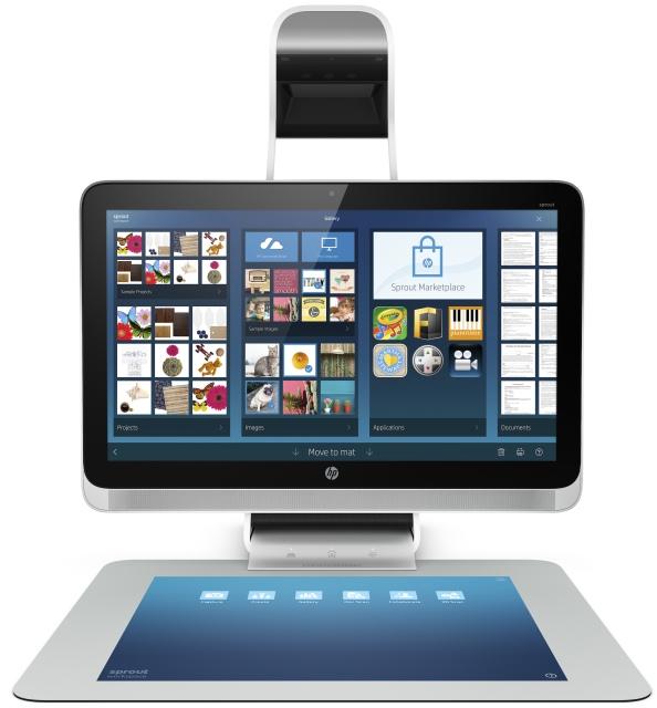 HP Sprout: моноблок с проекционной клавиатурой-тачпадом и 3D-сканером-2