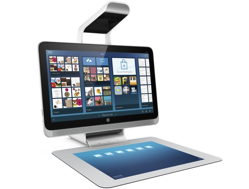 HP Sprout: моноблок с проекционной клавиатурой-тачпадом и 3D-сканером