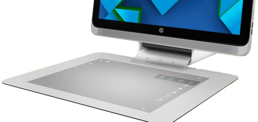 HP Sprout: моноблок с проекционной клавиатурой-тачпадом и 3D-сканером-5
