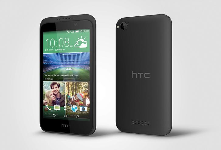 HTC Desire 320: четырехъядерный бюджетник с возможностью видеозаписи в FullHD