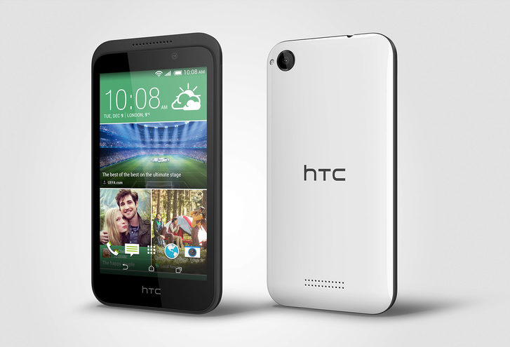 HTC Desire 320: четырехъядерный бюджетник с возможностью видеозаписи в FullHD-2