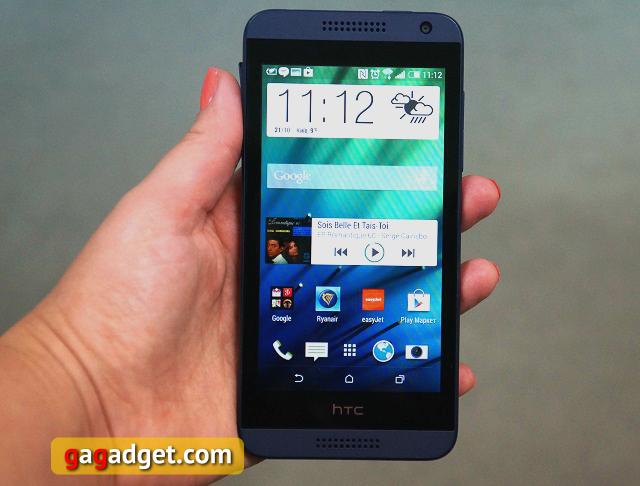 Обзор смартфона HTC Desire 610: глянца много не бывает?-3
