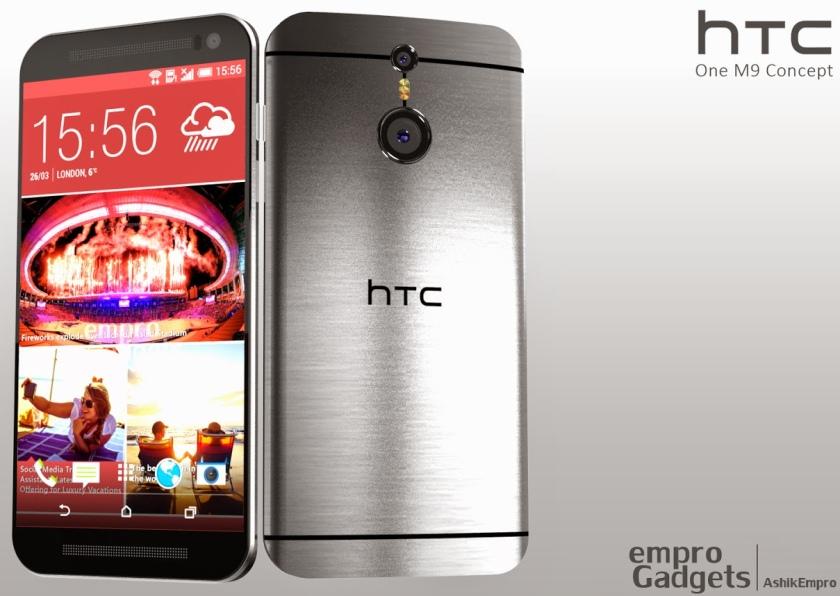 Первые слухи о будущем флагманском смартфоне HTC One (M9)