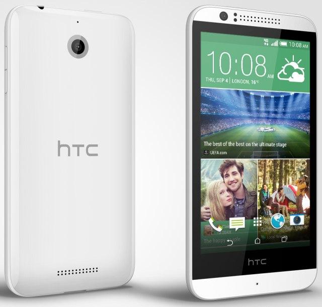 HTC Desire 510: недорогой смартфон с поддержкой LTE