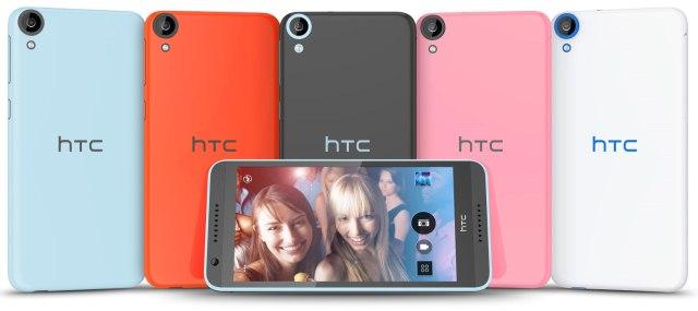 HTC Desire 820: середнячок с 64-битным восьмиядерным процессором Snapdragon 615