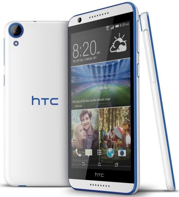HTC Desire 820: середнячок с 64-битным восьмиядерным процессором Snapdragon 615-2