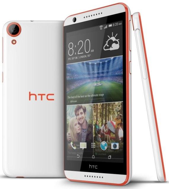 HTC Desire 820: середнячок с 64-битным восьмиядерным процессором Snapdragon 615-3