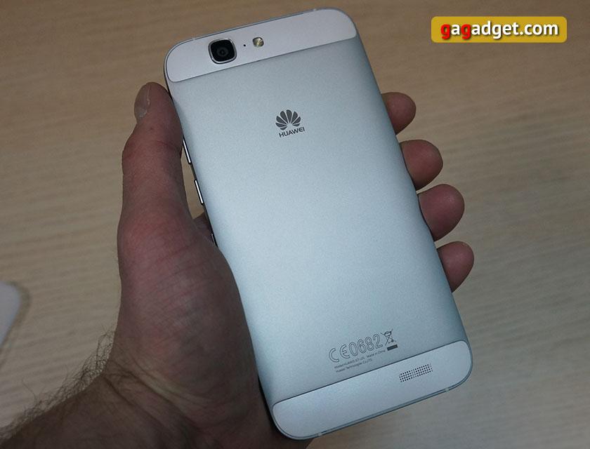 Обзор металлического 5.5-дюймового смартфона Huawei Ascend G7-8