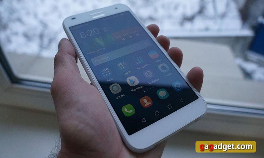 Обзор металлического 5.5-дюймового смартфона Huawei Ascend G7-9