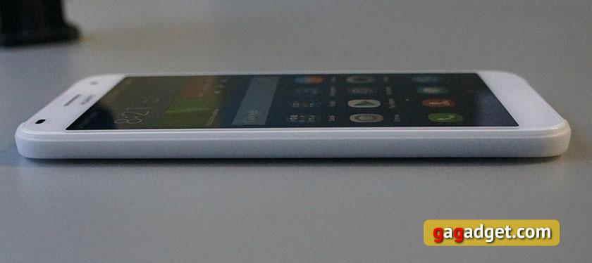 Обзор металлического 5.5-дюймового смартфона Huawei G7-11