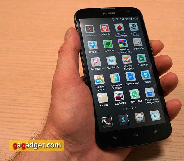 Обзор доступного 5.5-дюймового смартфона Huawei Ascend G730