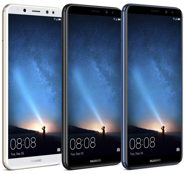 Huawei выпустит смартфон Mate 10 вверсии Lite с4 камерами