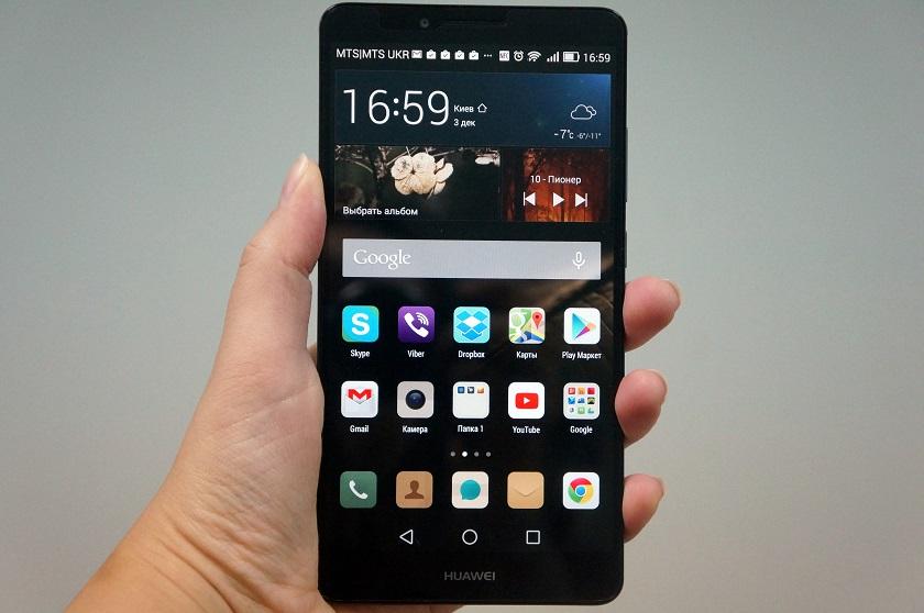 Обзор смартфона Huawei Mate7