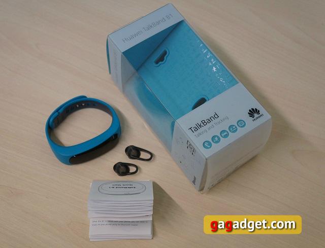 """Обзор """"умного"""" браслета Huawei TalkBand B1-12"""