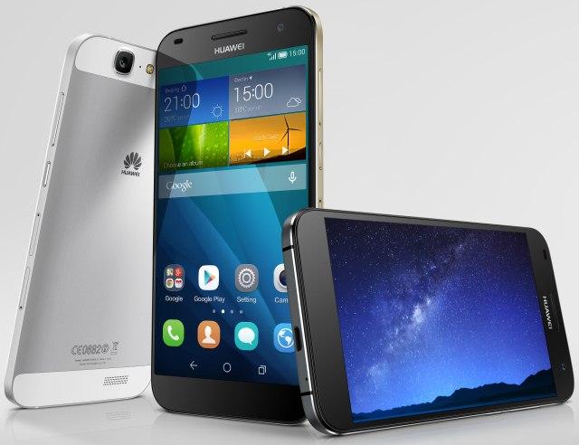 Huawei представила металлический смартфон Ascend G7 с 64-битным процессором