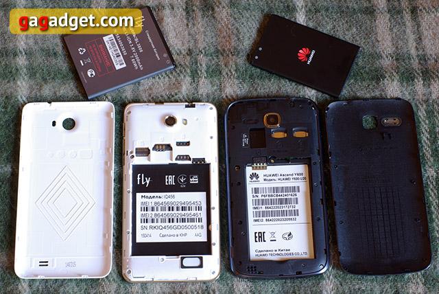 Лицом к лицу: Huawei Ascend Y600, Fly IQ456 Era Life 2 и Prestigio MultiPhone PAP5500 Duo-14