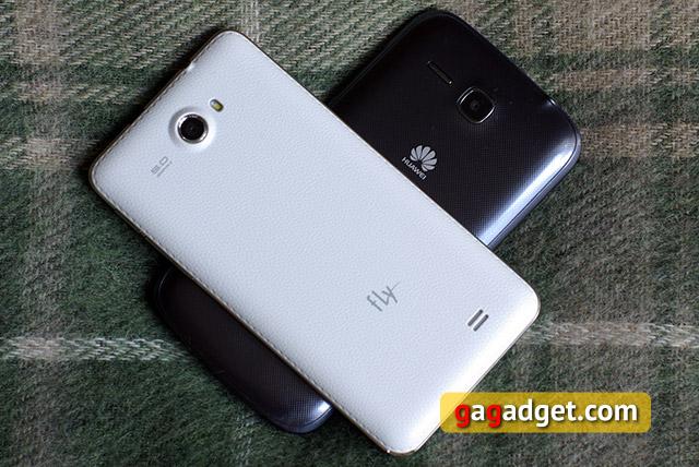 Лицом к лицу: Huawei Ascend Y600, Fly IQ456 Era Life 2 и Prestigio MultiPhone PAP5500 Duo
