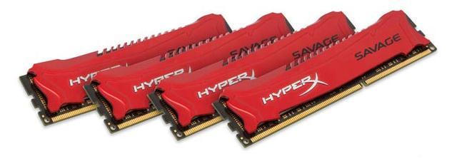 Kingston выпустила линейку оперативной памяти DDR3 HyperX Savage