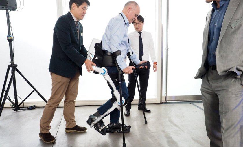 Hyundai показала облегченные экзоскелеты