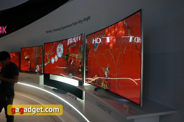 В поисках новых форм: павильон LG на IFA 2014 своими глазами-17