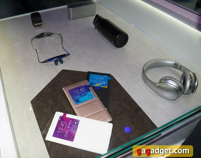 Samsung Unpacked 2014 Episode 2 своими глазами: Galaxy Note 4 и все, все, все-7