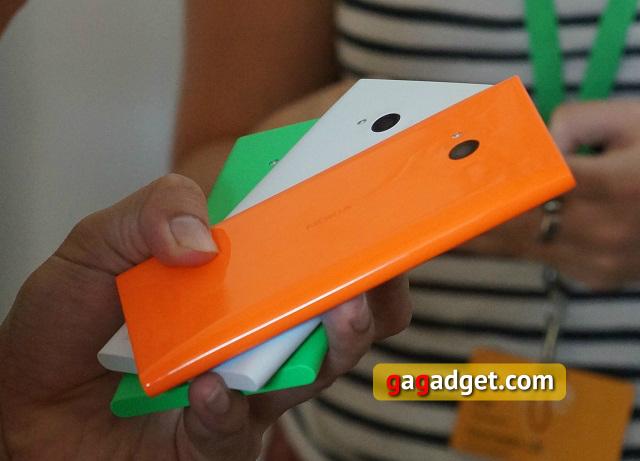 С перламутровыми пуговицами: Nokia Lumia 830, 735 и 730 Dual SIM своими глазами-14