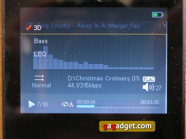 Обзор плеера iHIFI 770: рождественский Hi-Fi -17