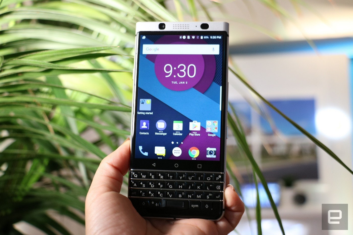 Смартфон BlackBerry Меркури презентуют еще доначала MWC 2017