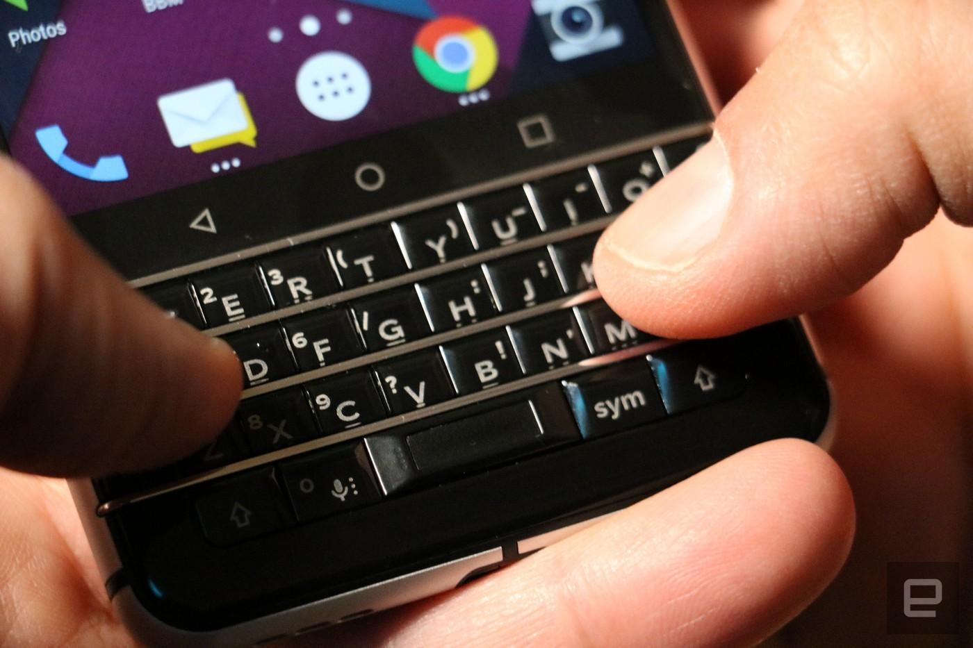 Смартфон BlackBerry Меркури представят еще доначала MWC 2017
