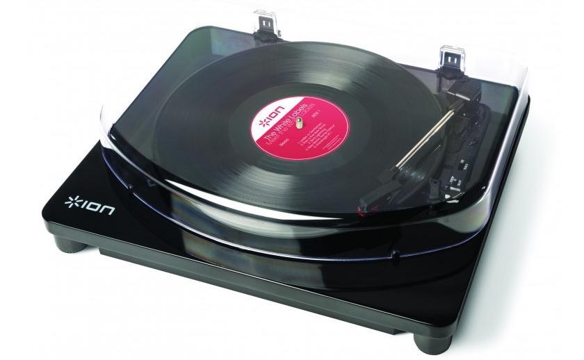 """Проигрыватель iON Audio Air LP попытается совместить """"ламповость"""" пластинок и и удобство Bluetooth"""