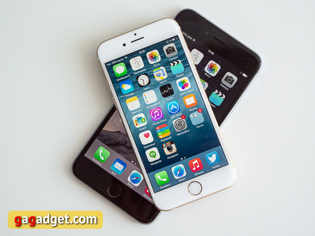 iPhone 6 или iPhone 6 Plus?