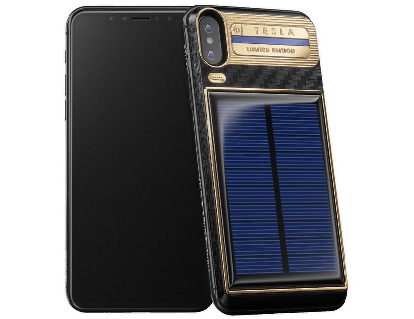 Caviar выпустила iPhone X с солнечной батареей и ценой от $  4500