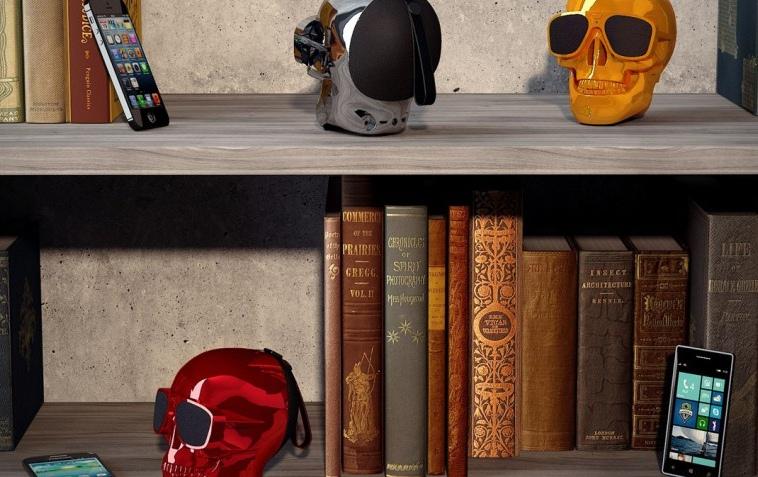 Jarre Aeroskull: акустические системы в виде стилизованного черепа-2