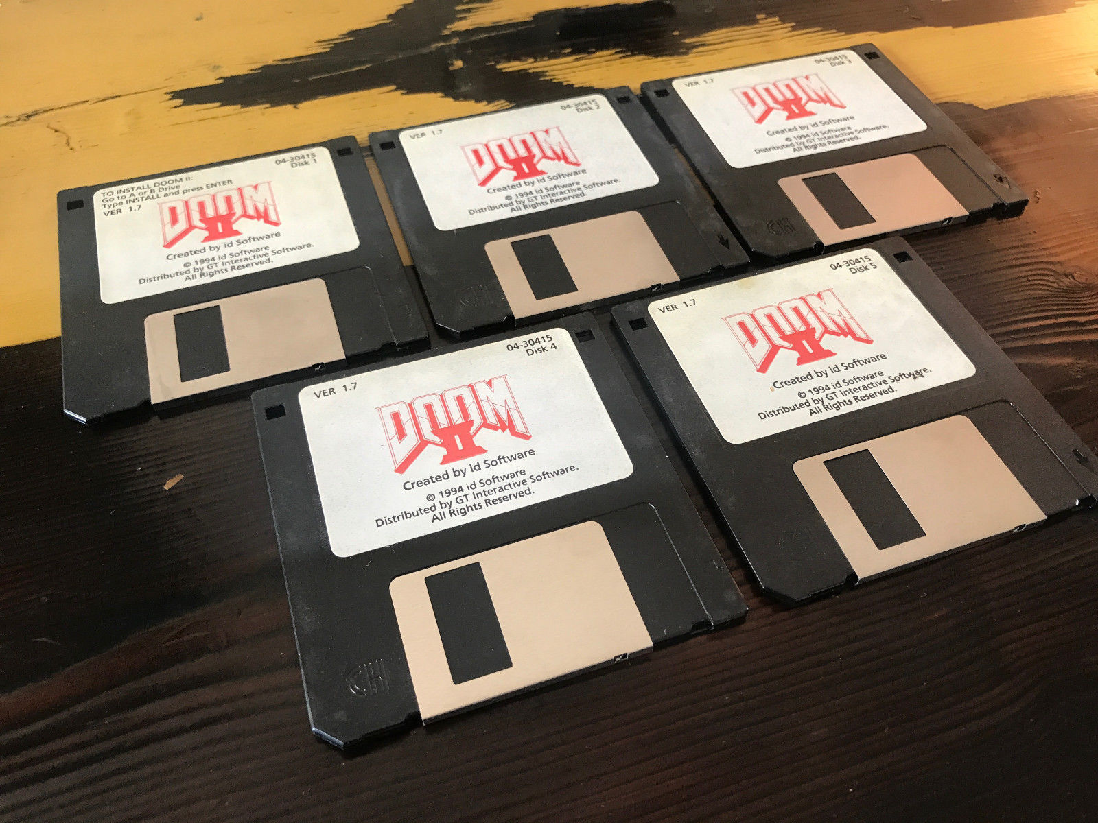 The Original Copy Of Doom 2 For Auction Gadgets F