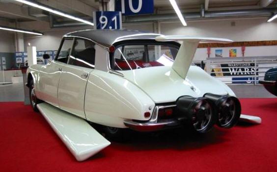 Легендарные автомобили из кинофильмов-7