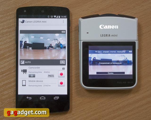 Видео в эпоху селфи. Обзор камкордера Canon LEGRIA Mini-10