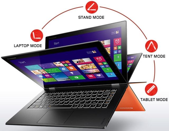Стали известны характеристики ноутбука-трансформера Lenovo Yoga 3 Pro