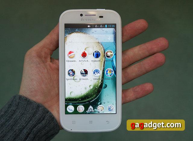Беглый обзор Lenovo IdeaPhone A706 -14