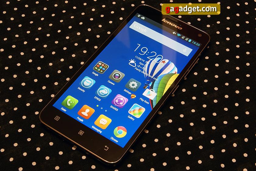 Обзор смартфона Lenovo S580