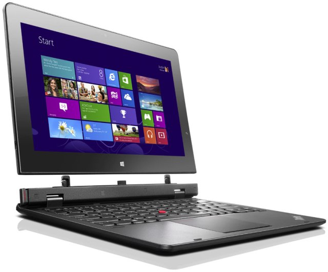 Ноутбуки-перевертыши Lenovo ThinkPad Helix и FLEX 2 Pro на IFA 2014