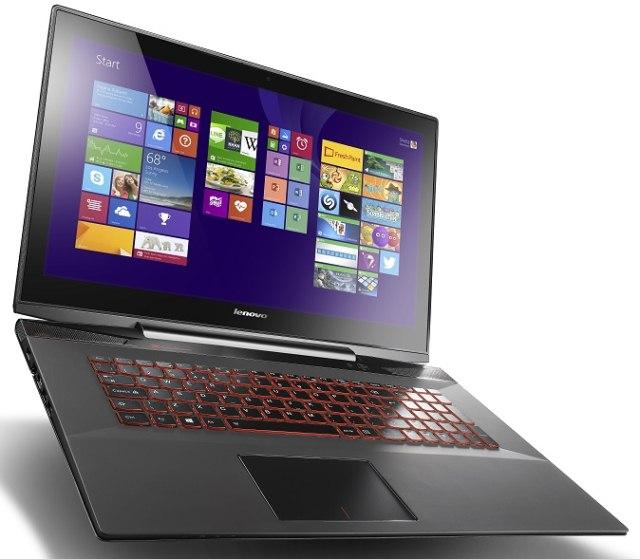 Геймерские компьютеры Lenovo на IFA 2014: ноутбук Y70 Touch и настольные ПК ERAZER X310 и X315