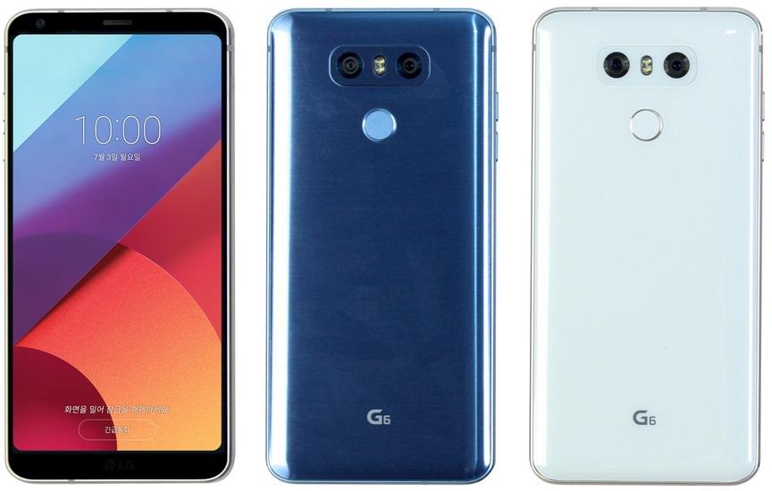 СмартфонLG G6 Plus поступит в реализацию всередине лета