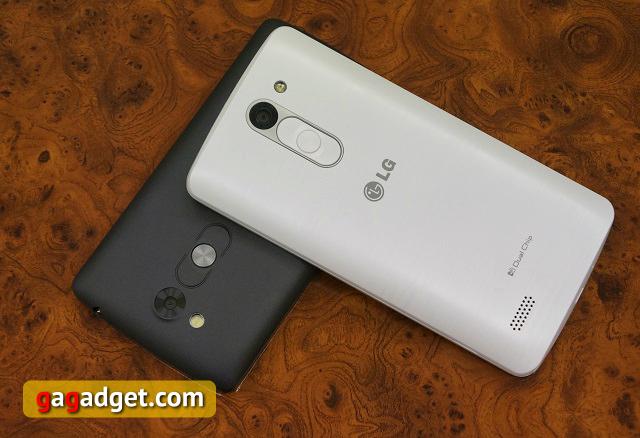 Тише едешь, дальше будешь. Обзор бюджетных смартфонов LG L Fino и L Bello