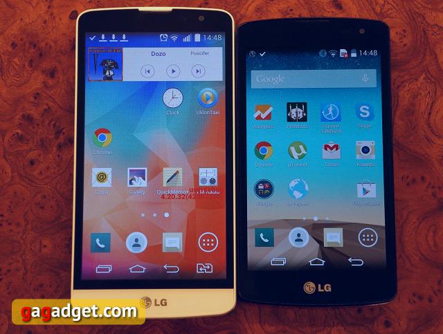 Тише едешь, дальше будешь. Обзор бюджетных смартфонов LG L Fino и L Bello-2