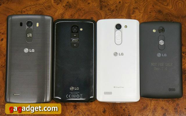Тише едешь, дальше будешь. Обзор бюджетных смартфонов LG L Fino и L Bello-9