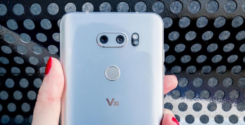 СмартфонLG V30s получит вдвое  больше встроенной памяти